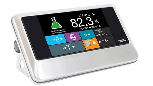 touch screen weighing indicator