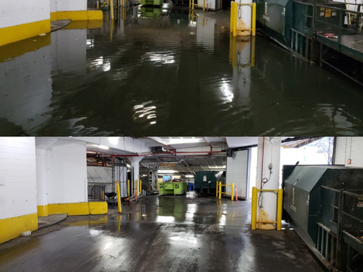 Before and After Emergency Water Removal in Toronto, ON