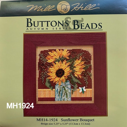 Buttons and Beads Cross Stitch Kits, Autumn Series