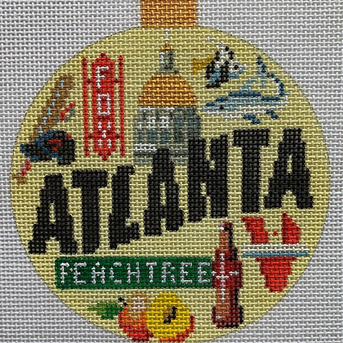 Kirk and Bradley, Atlanta travel round, KB-1345