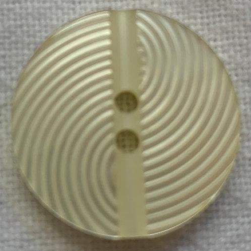 Ivory Spiral button
