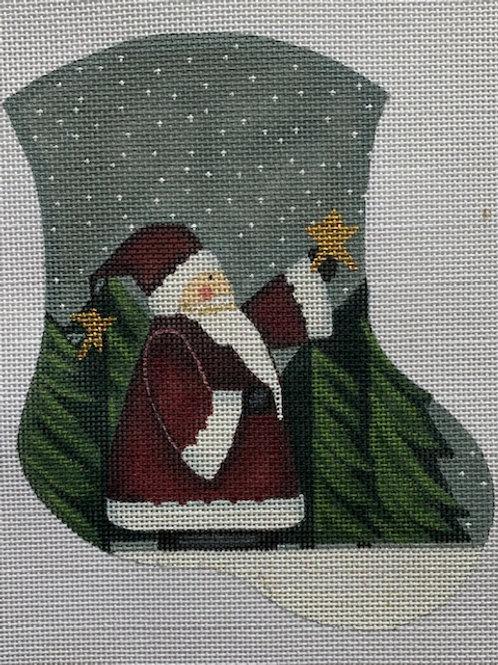 Danji, Santa and Star Mini Stocking, DLK-35