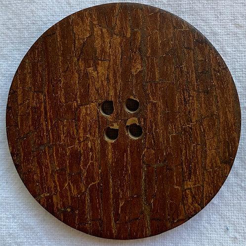 XL Cinnamon Bark button