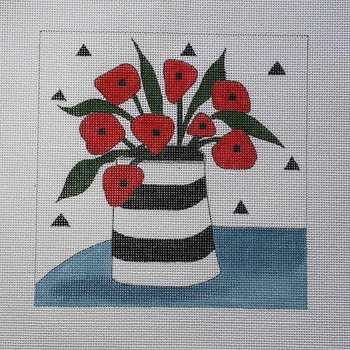 Poppies in Vase, MHP-1703