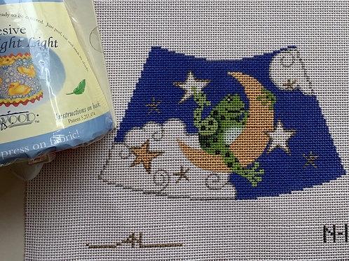 Amanda Lawford Nightlight Kit, Frog and Moon