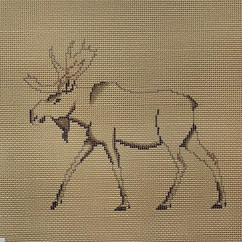 Painted Pony Designs, Petei, Moose, PT-556