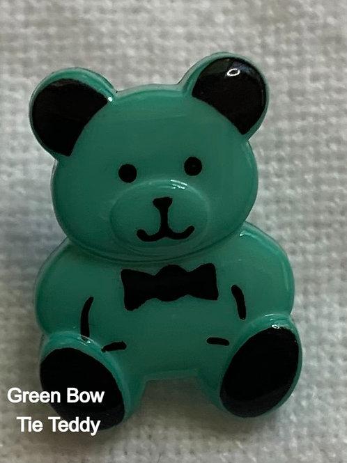 Bow Tie Teddy button