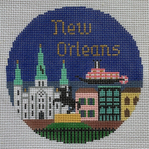 Silver Needle, New Orleans Travel Round, SN-442