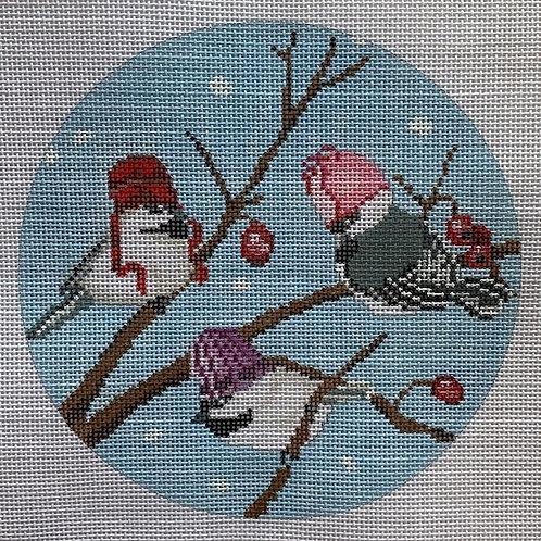 Scott Church Creative, Three Birds with Hats