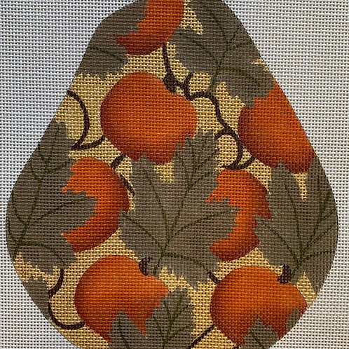 Melissa Shirley, Pear Topiary with Pumpkins, MS-14372A