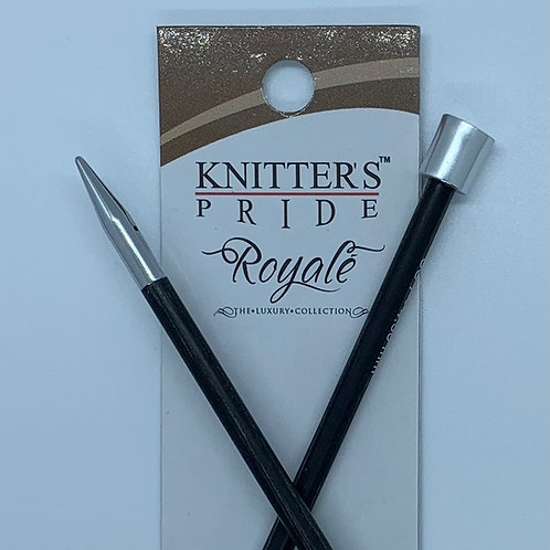 """Knitter's Pride Royale 14"""" Single Point Needles size 11"""