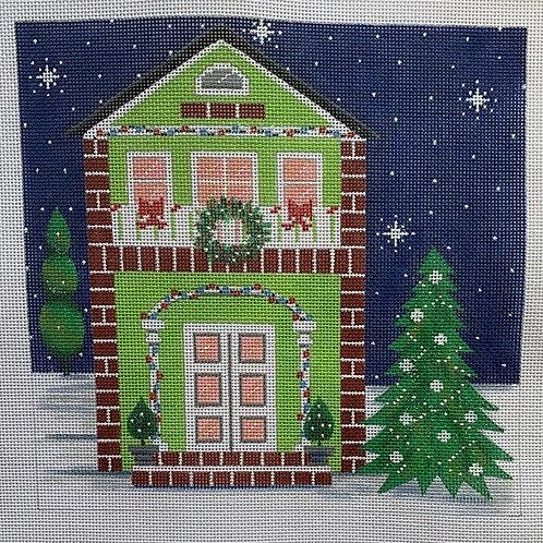Green Christmas House, FDP-2780