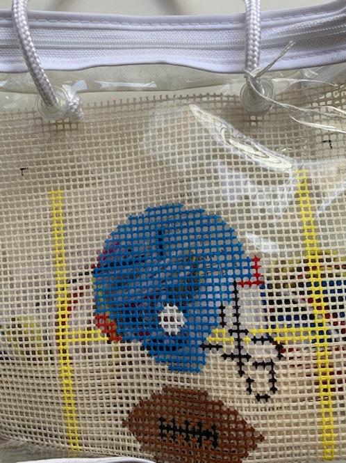 Football Helmet Beginner Needlepoint Kit