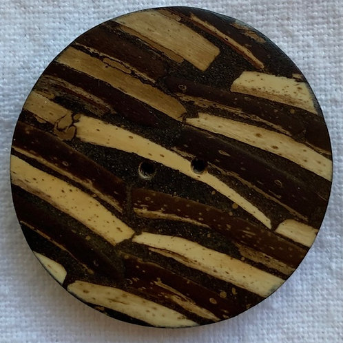 Large Bamboo button,
