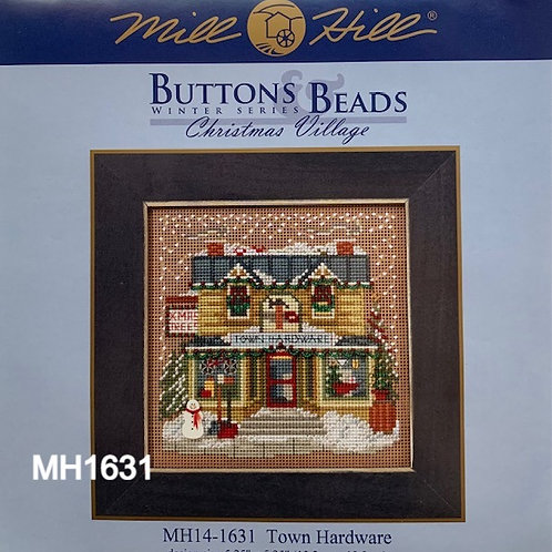 Buttons and Beads Cross Stitch Kits, Winter Series