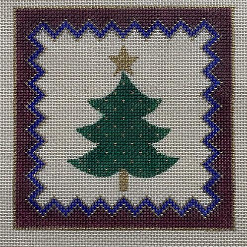 Beau Geste, Tree Ornament/Coaster, BGC-221a