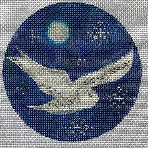 Rebecca Wood, Owl Ornament, RW-1016F