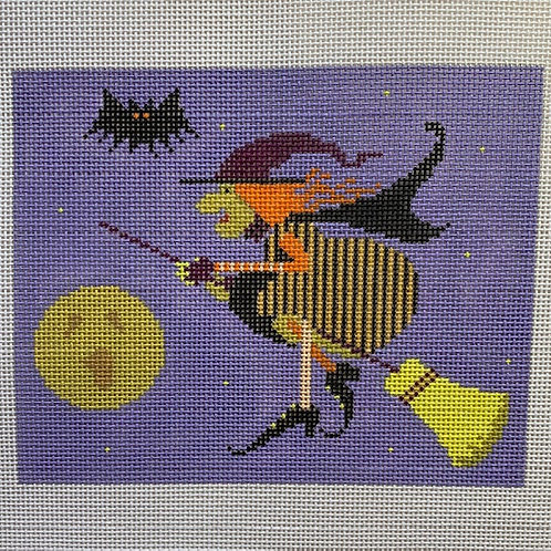 Kirk & Bradley, Witch on a Broom, KBVH-3665