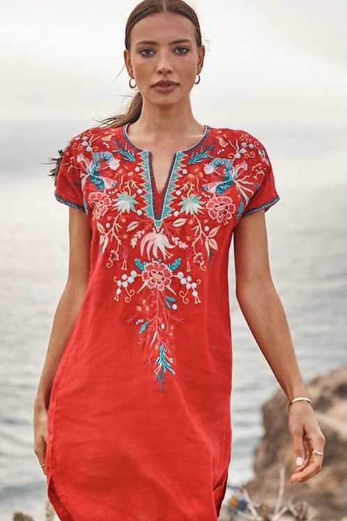 Johnny Was Embroidery Dress