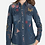 Thumbnail: Denim Embroidery Butterfly Top