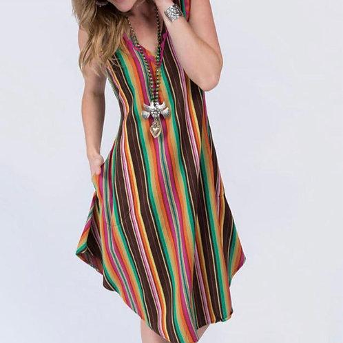 Serape Maxi Dress