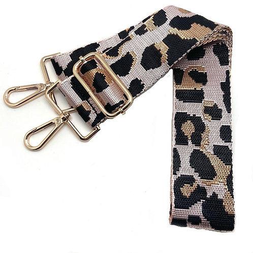 Pink Leopard Single Strap