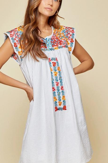 Spainy Dolman Sleeve Dress