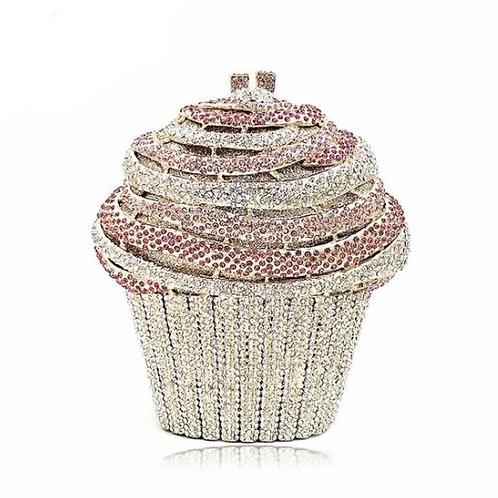 Have a Cupcake Crystal Handbag