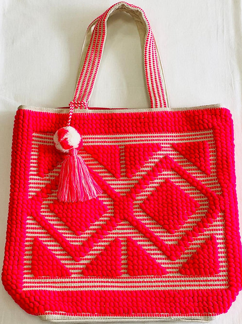 Travel - Beach Tote with Tassel