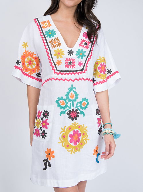 Kaleidoscope Colorful Dress Ivy Jane