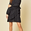 Thumbnail: Black Tie Ruffle Front Dress