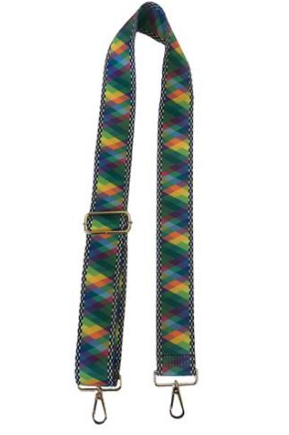 Blue Check Single Strap