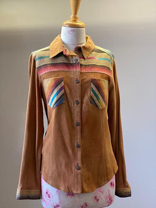 Tasha Polizzi Suede Shirt/Jacket