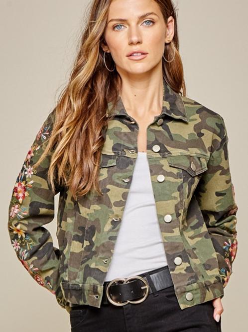 Camo Jacket Embroidery
