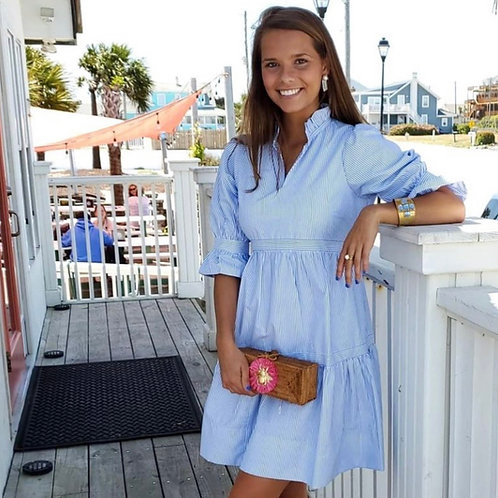 Baby Doll Dress Periwinkle