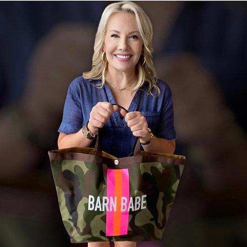 Barn Babe Camo Handbag/Tote