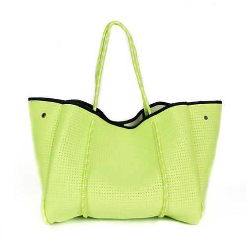Neon Green Tote