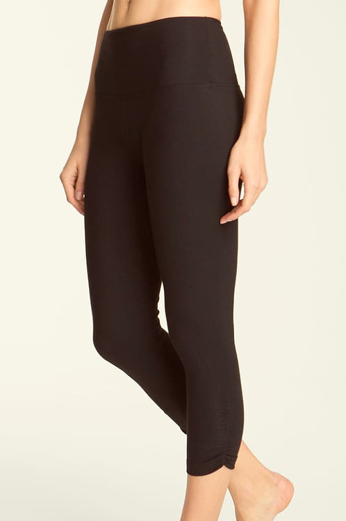 Lysee Ruched Crop Legging Tummy Control
