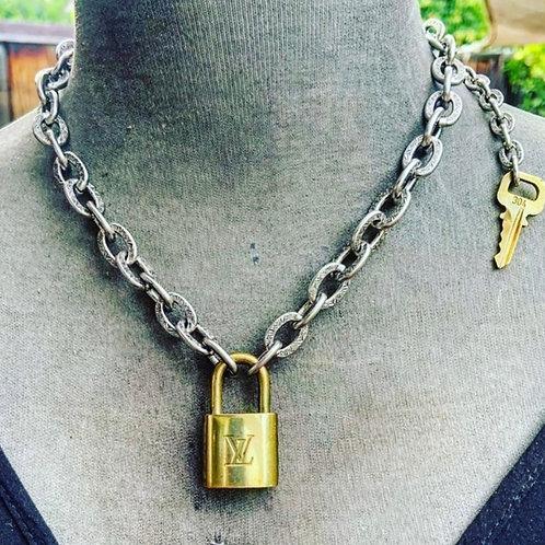 LV Locks Necklace