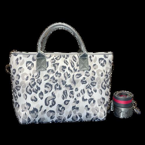 Leopard Handbag with 2 Straps