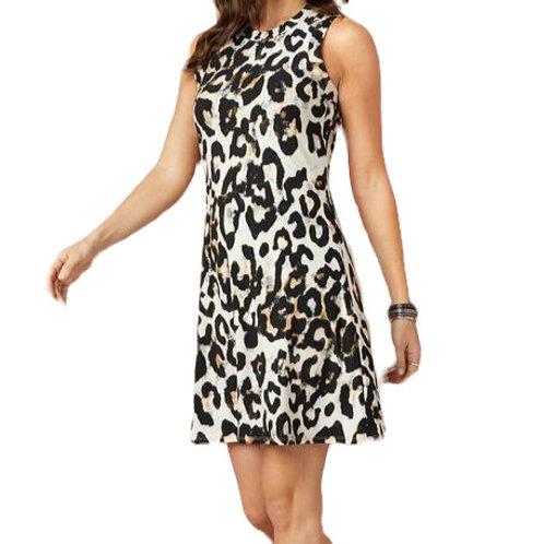 On Safari Halter Dress