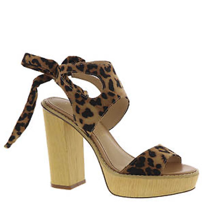 Leopard High Heel Wedge
