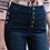 Thumbnail: High Waisted Crop Denim Pull Up Jean