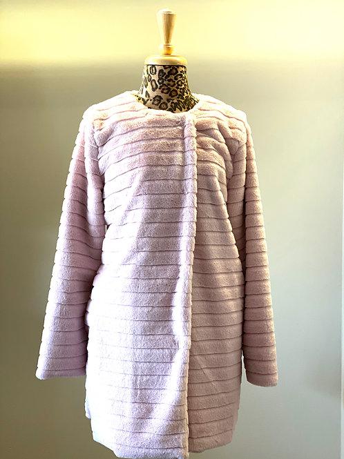 Faux Fur  Light Pink Jacket