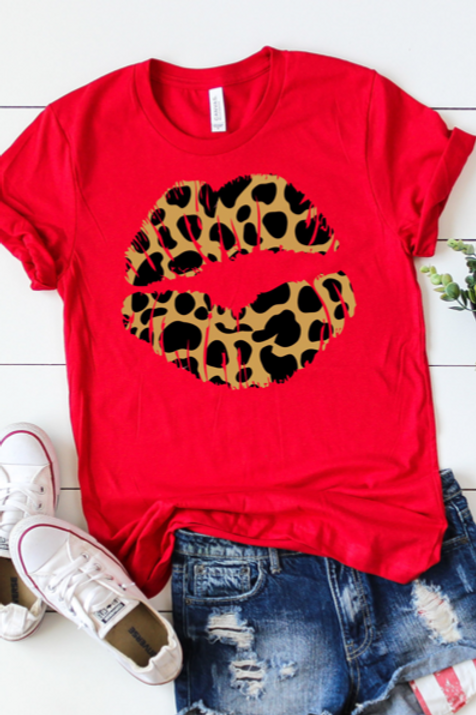 Leopard Lips T-Shirt