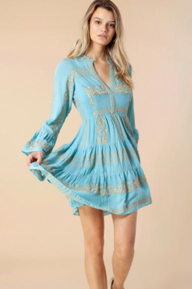 Hale Sky Blue Dress