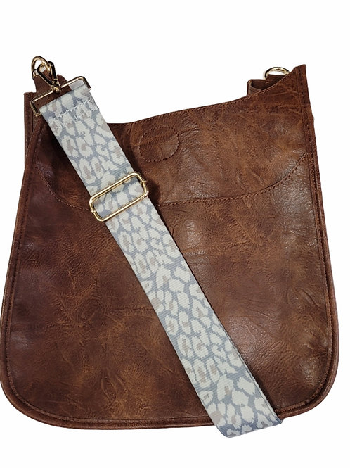 Vegan Leather Cross Body with Strap