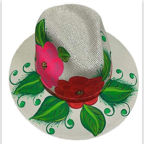 Floral Straw Hat