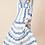 Thumbnail: Hale Royal Blue & White Maxi Dress