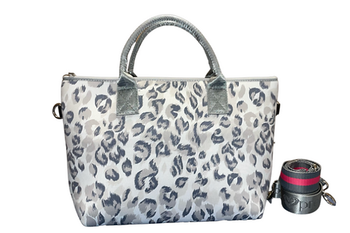 Leopard Tote with Straps